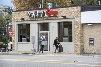 Newfane KeyBankbranch closing