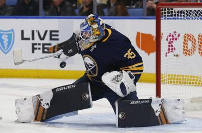 Sabres fall 4-3 to rival Maple Leafs in OT thriller