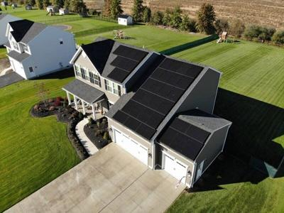Solar power house by house