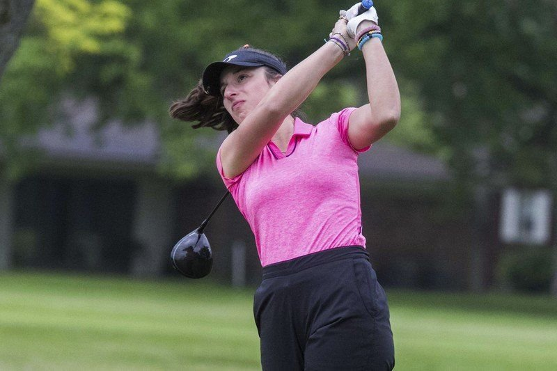 Groundbreaking L-P golfer Madeline Catalano heading to Towson