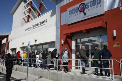 3.3M seek US jobless aid, nearly 5 times earlier high