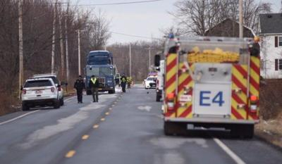 Cambria man struck, killed by garbage truck