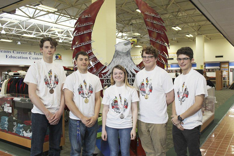 SkillsUSA state medalists announced