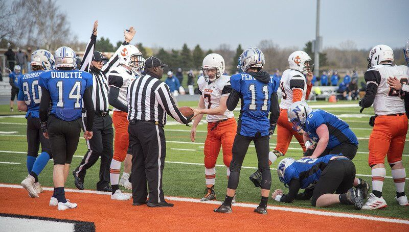Wilson football shuts out Newfane