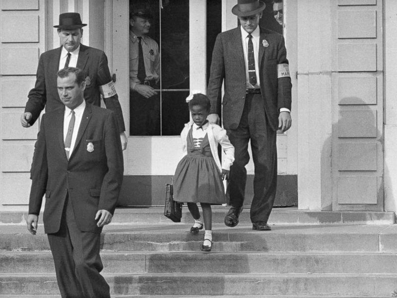Grown-up Ruby Bridges speaks for the children