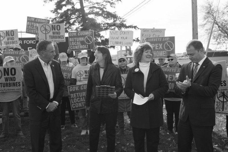 Ortt, Collins speak against wind turbines