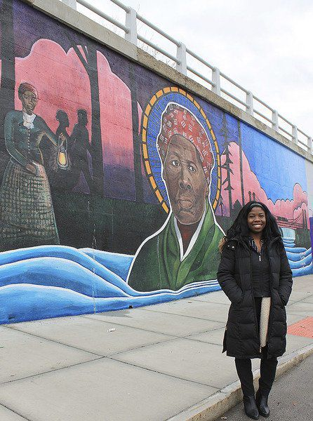 Murals bring history and hope to Falls' North End