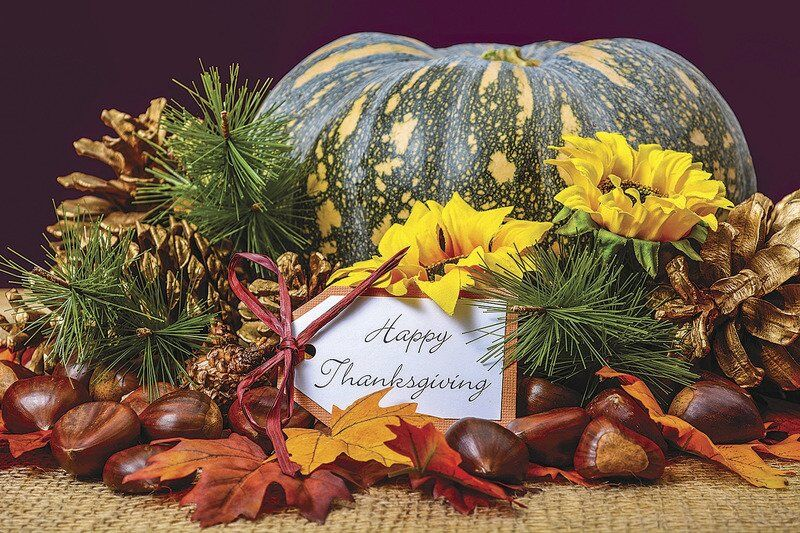 BACK TO OUR ROOTS: Decorate like it's Thanksgiving 1883