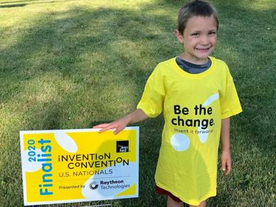Sanborn youngster wins national invention competition