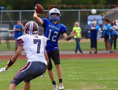 Newfane football tables its emotions in back-to-back wins