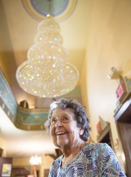 New crystal chandelier at the Palace is a memorial to a caring couple  sc 1 st  Lockport Union-Sun u0026 Journal & New crystal chandelier at the Palace is a memorial to a caring ... azcodes.com
