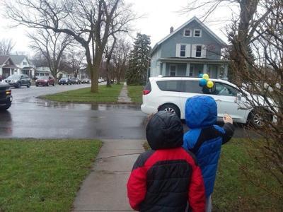 Anna Merritt Elementary pulls off a parade