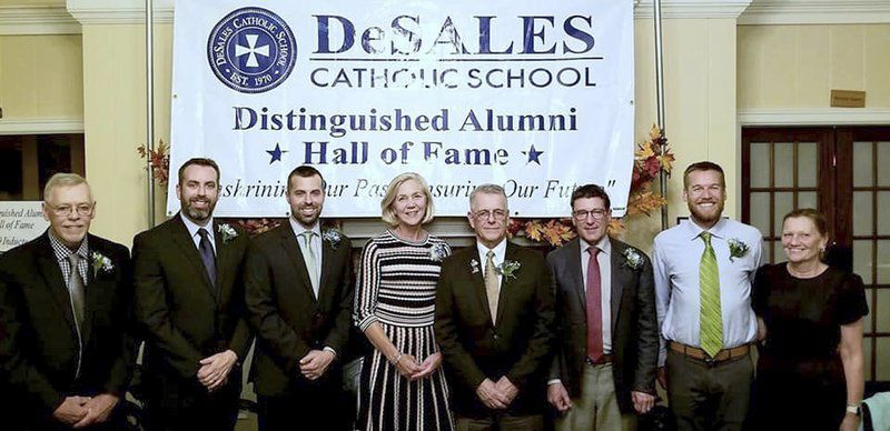Five inducted into DeSales Hall of Fame