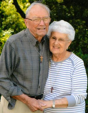 Jerry and Veda Rostomily celebrated 65 years of marriage in April