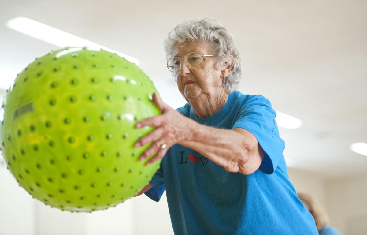 Seniors enjoy exercise and camaraderie at Energizers, PaceSetters classes
