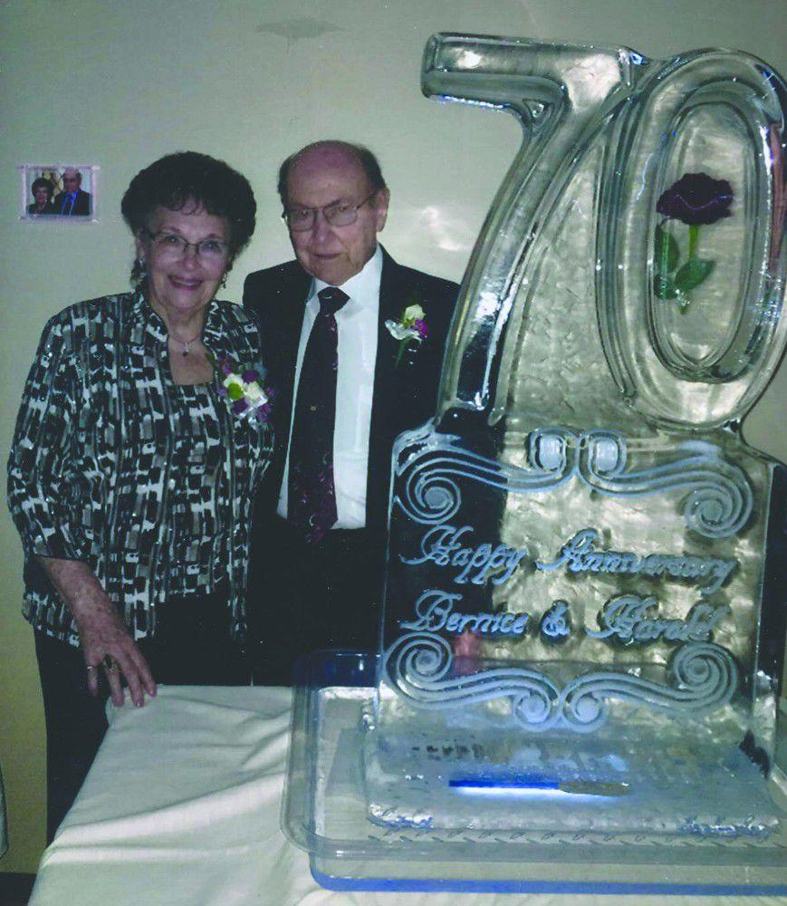 Rohrbachs celebrate their 70th wedding anniversary
