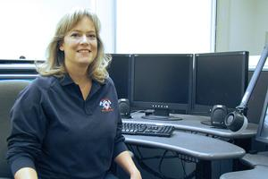 American Medical Response dispatcher Conni Janitz recalls special delivery