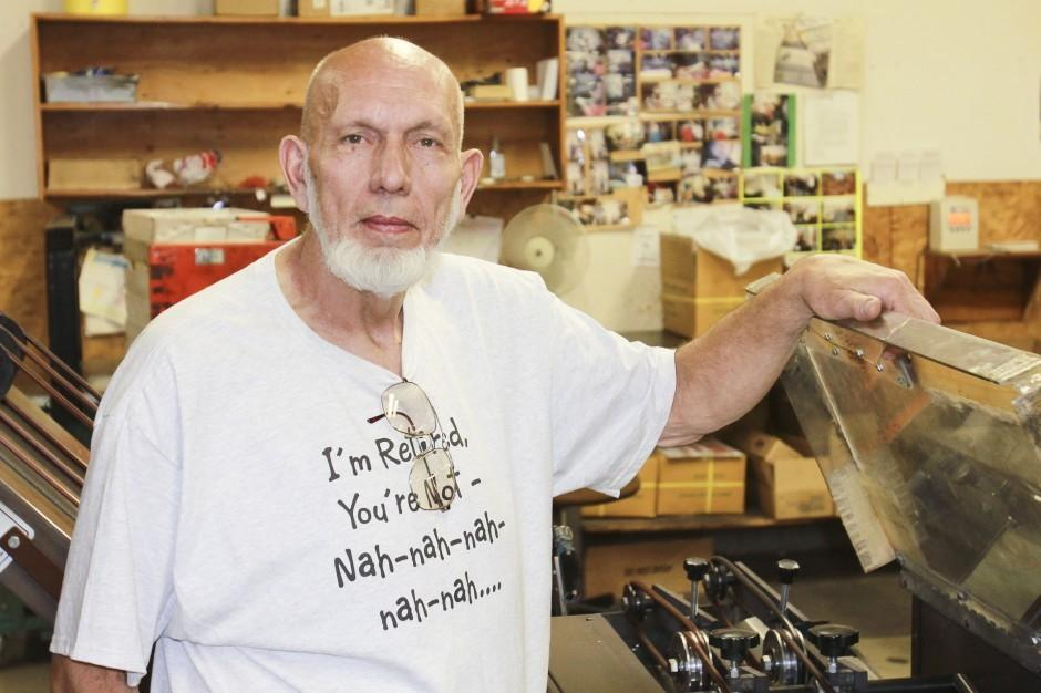 Lodi News-Sentinel foreman John Ziemer retires after 23 years