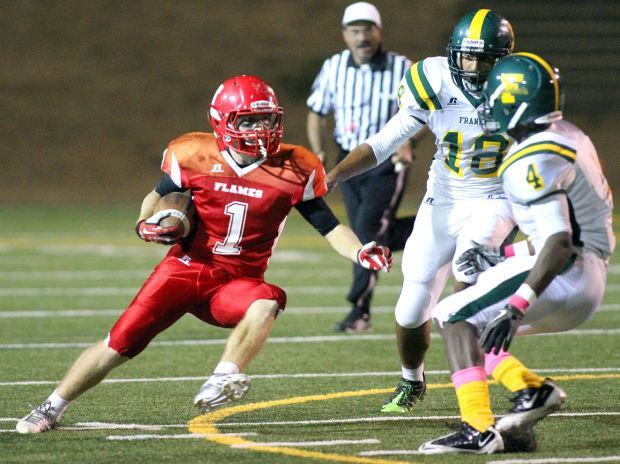 Football: Flames sting Yellowjackets