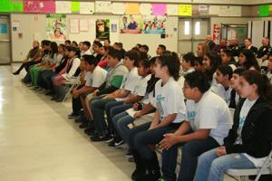Lawrence Elementary School sixth-grade students graduate 'GREAT'