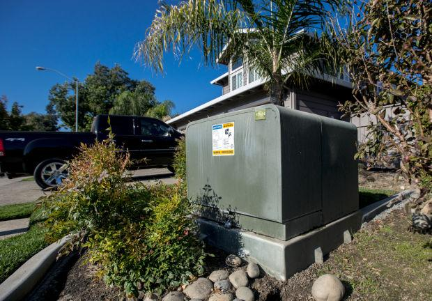 Lodi man upset by utility box in yard