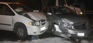 Two cars crash in Eastside Lodi