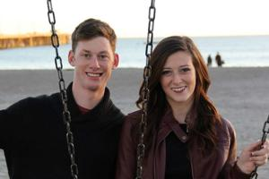 Karl Hughes Schroeder and Hailey Lynn MacLeod were engaged last November in Granada