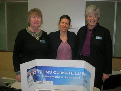 AAUW hosts speaker from Citizens Climate Lobby