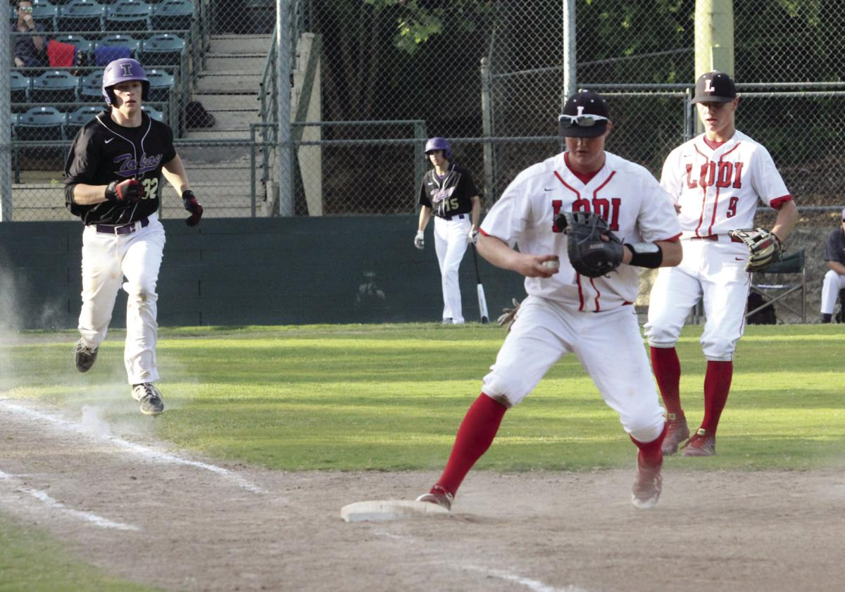 High school baseball: Lodi sweeps past Tokay