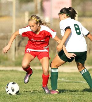 Flames burned out, but not without fight in girls soccer