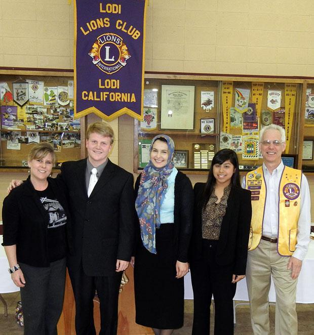 Lodi Lions Club holds student speaker contest