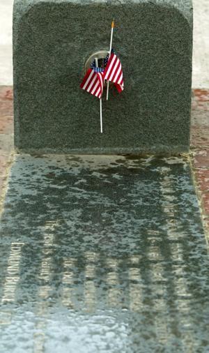 All Veterans Plaza's poetry stones honor our veterans