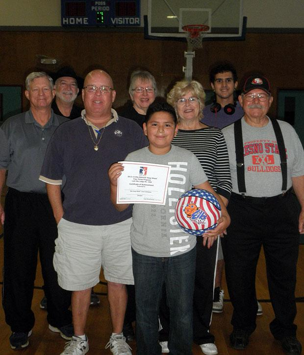Lodi Elks Lodge holds annual hoopshoot contest