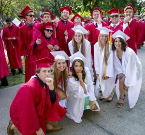 Lodi High School graduates celebrate friendships