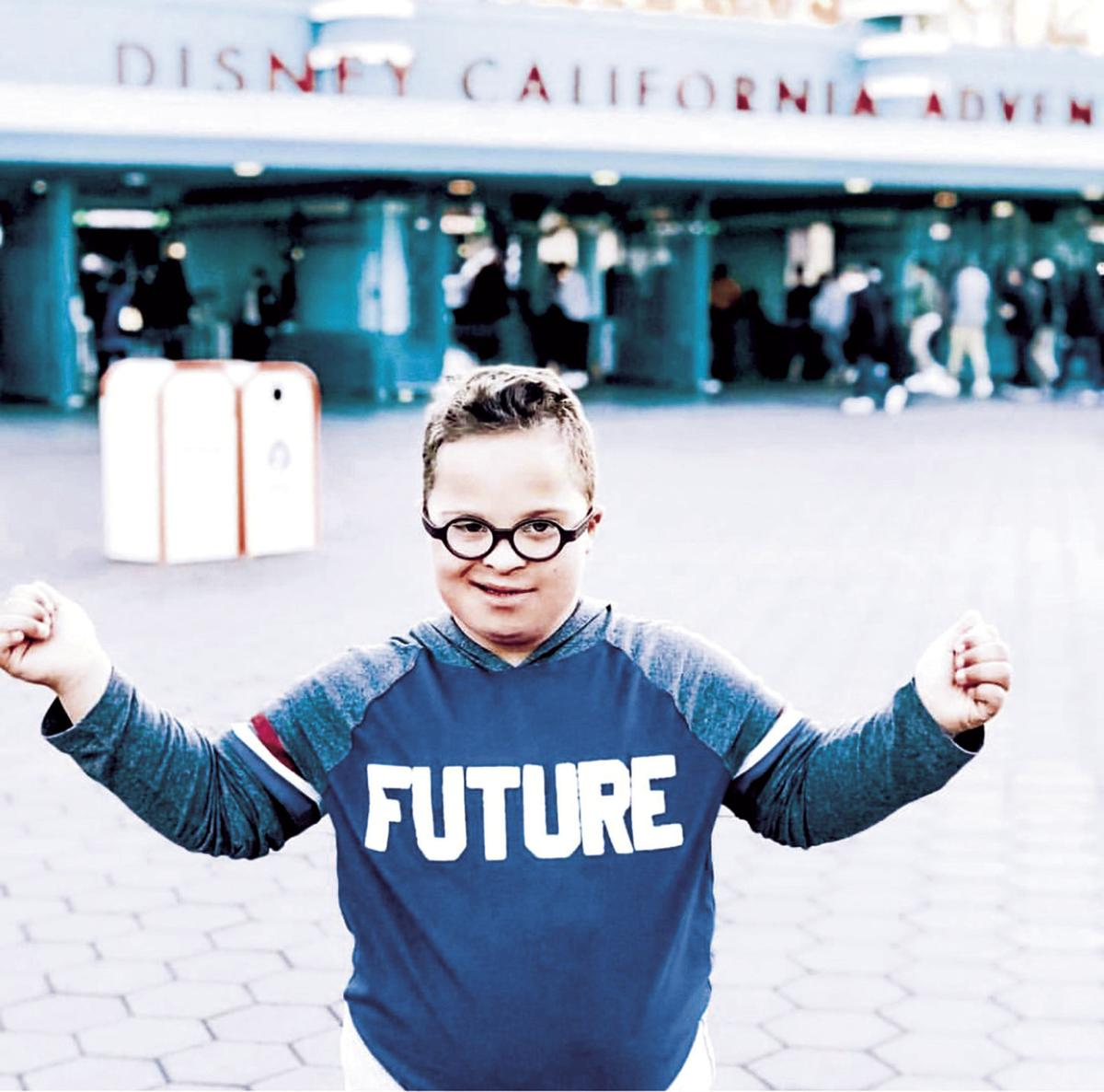 Lodi boy's photo to be on Times Square billboard