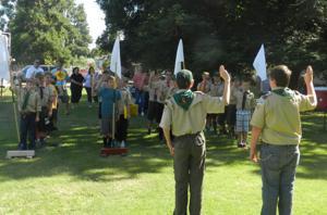 Elks host Boy Scouts for Trail to Class program