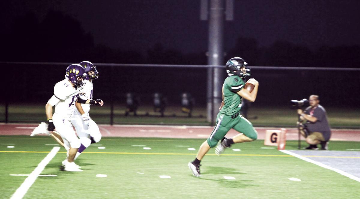 High school football: Hawks thump the Tigers