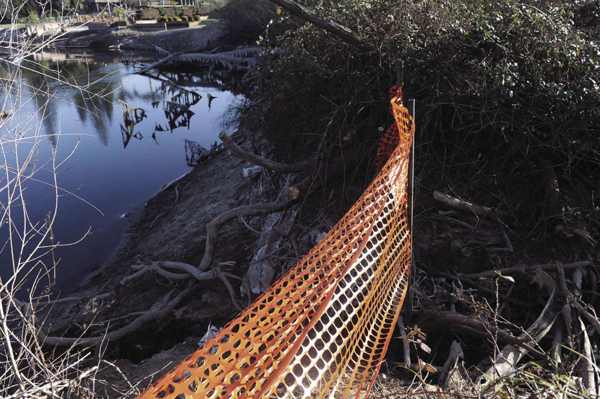 Structural integrity of Pigs Lake levee jeopardized