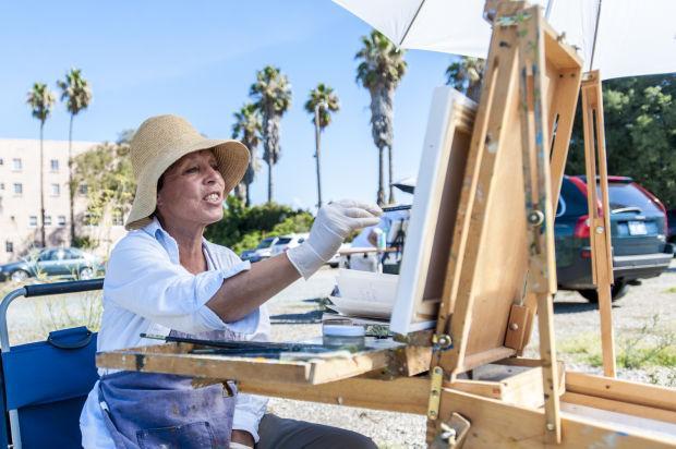 Painting the Sacramento Delta