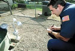Lodi firefighters double as meteorologists