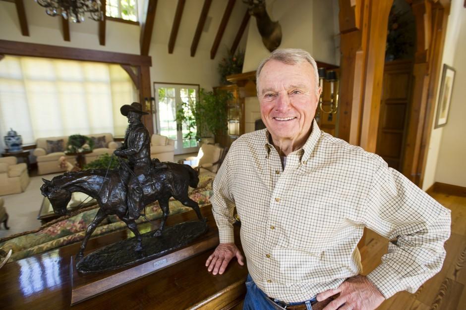 Fritz Grupe balances family, business, farming