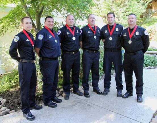 American Medical Response employees honored for helping Hurricane Sandy victims