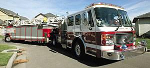 Firefighters say $922,574 tiller truck nimble, needed