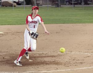 High school softball: Flames lose tough TCAL opener to Trojans