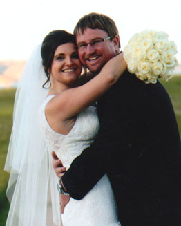 Lucas Cunnington and Nicole Ehlers married