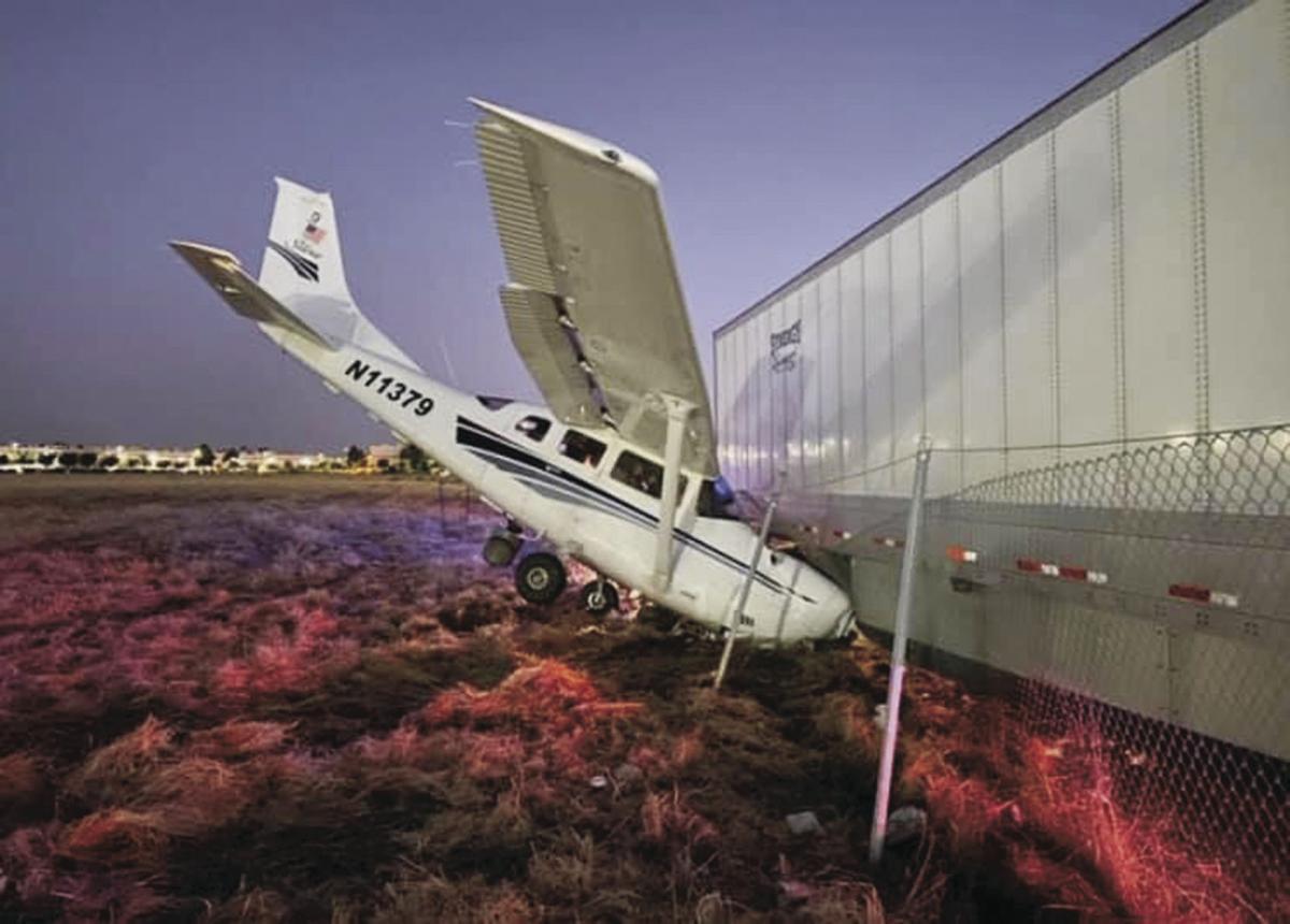 S.J. deputies on training flight unharmed in Stockton crash