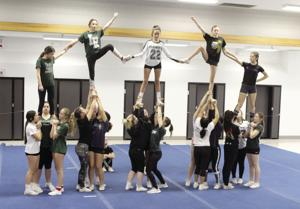 Cheerleading: Liberty Ranch preparing for encore at Golden 1 Center