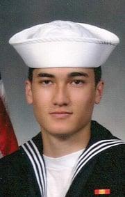Navy Airman Recruit Zachary Petitt