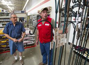 Tools, boots and pet food fill the aisles at Lodi's new Tractor Supply Co.
