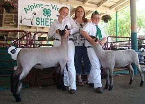 Alpine Victor 4-H members successful at San Joaquin Fair
